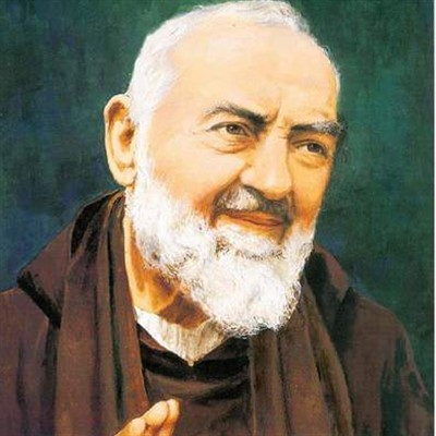 Padre Pio with St Ann KofC